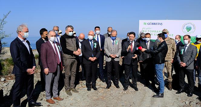 GÜBRETAŞ'tan 69'uncu yıl anısına İskenderun'a Hatıra Ormanı