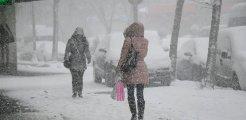 Hava sıcaklığının düşmesiyle birlikte doğuda kar yağışları etkili olacak