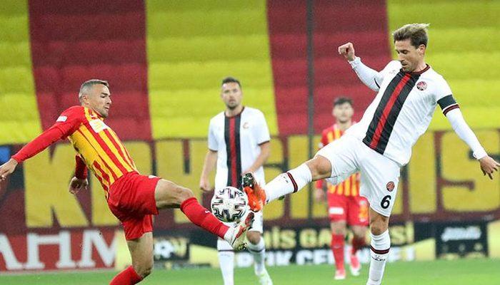 Hes Kablo Kayserispor 0-0 Fatih Karagümrük (Maç sonucu)