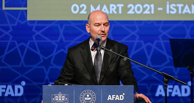İçişleri Bakanı Süleyman Soylu: 'Avrupa'nın ikinci büyük deprem gözlem istasyon ağına sahibiz'