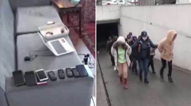 İnternette 'jigolo' ilanları vererek milyonluk vurgun yapan şebeke çökertildi! 5 kişi tutuklandı
