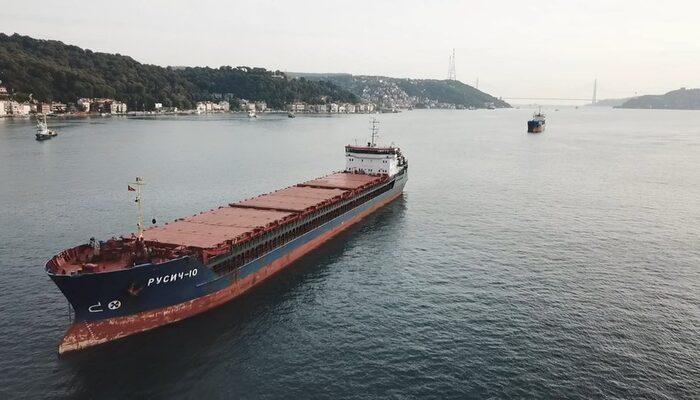 İstanbul Boğazı'nda Türk ve Rus bandıralı 2 kuru yük gemisi çarpıştı