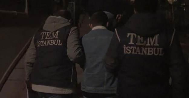İstanbul'da PKK Operasyonu: Dört Gözaltı