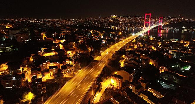 İstanbul'da sokağa çıkma kısıtlaması başladı