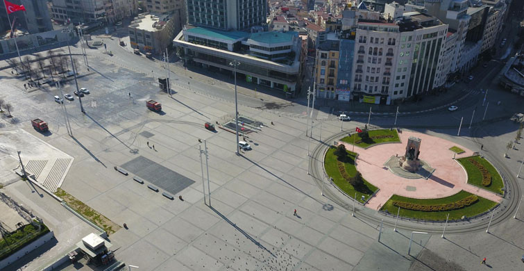 İstanbul Sokaklarında Sessizlik