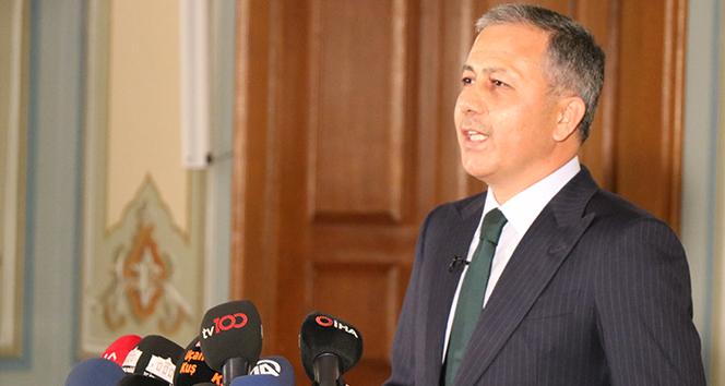 İstanbul Valisi Yerlikaya açıkladı: