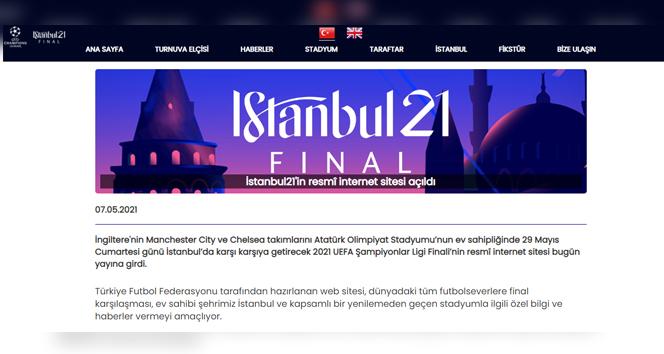 İstanbul21'in resmî internet sitesi açıldı