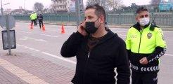 İzin belgesi soran polise 'WhatsApp' grubunu gösteren vatandaş, kısıtlama ihlalinden ceza yedi