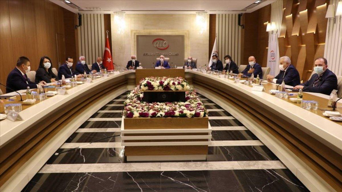 Kamu bankaları ve reel sektör temsilcileri Ankara'da buluştu