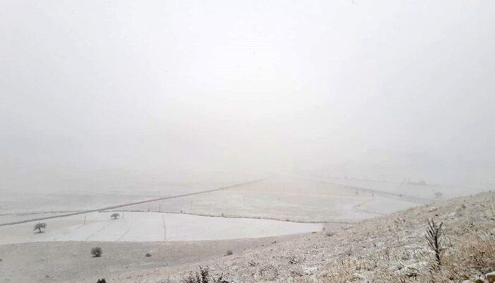 Kar yağışı hayatı felç etti! Göz gözü görmüyor