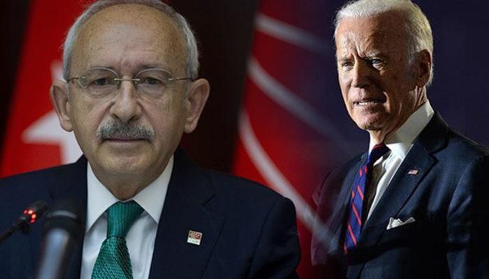 Kılıçdaroğlu, ABD'de başkanlık seçimlerini kazanan Joe Biden'i tebrik etti