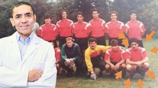 Koronavirüs aşısıyla dünyaya umut olan Prof. Dr. Uğur Şahin amatör futbolcu çıktı