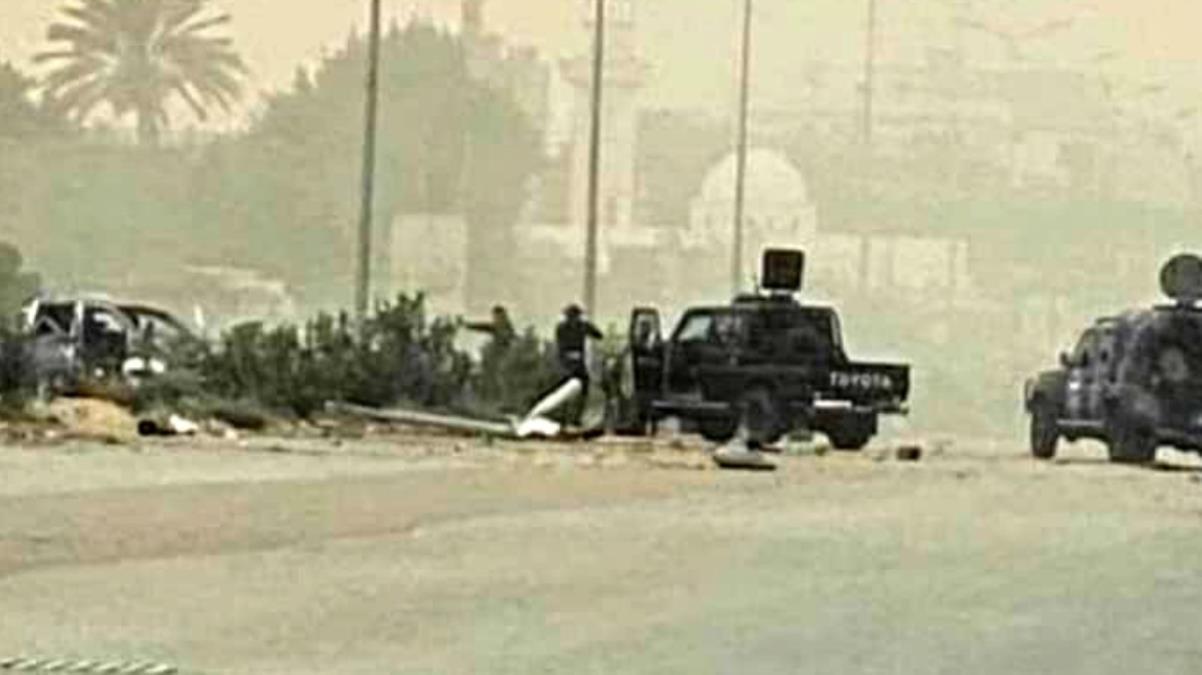 Libya İçişleri Bakanı Başağa'nın konvoyuna silahlı saldırı girişimi