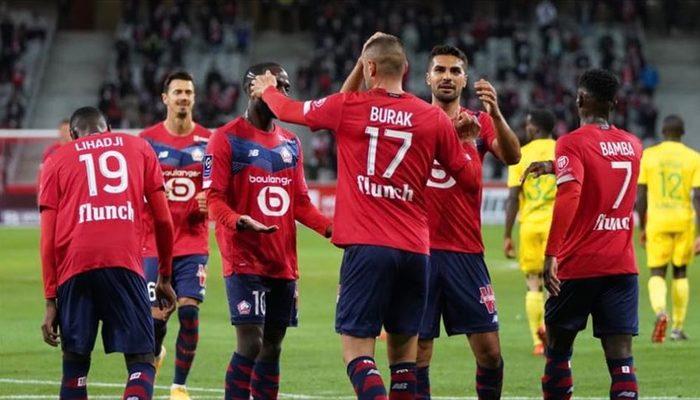 Lille'e Burak Yılmaz'ın golleri yetmedi
