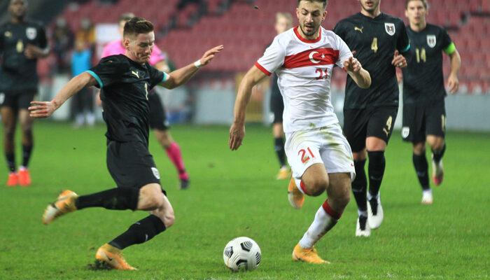 MAÇ SONUCU   Türkiye-Avusturya: 3-2