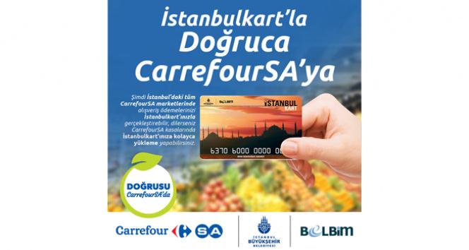 Marketlerde İstanbulkart kolaylığı
