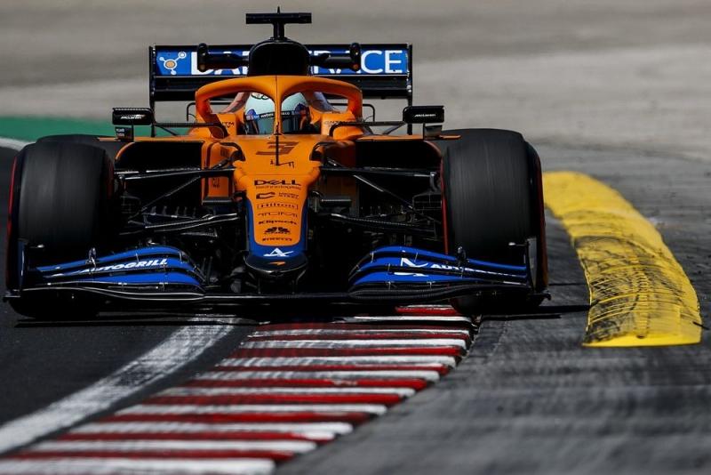 McLaren pilotları İstanbulda