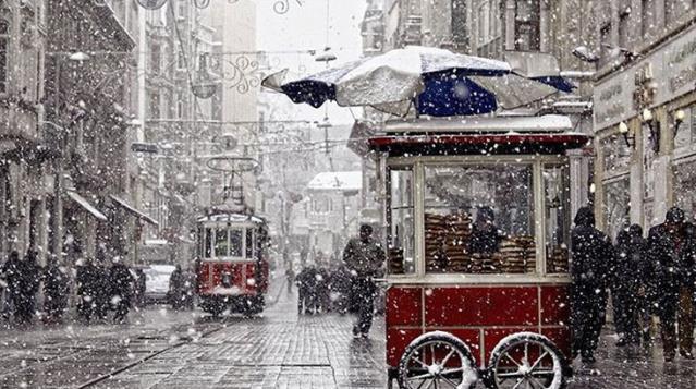 Meteoroloji uyardı! Cuma ve cumartesi günü İstanbul'da kar yağışı bekleniyor