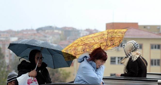 Meteorolojiden Eskişehir bölge için 'Kuvvetli fırtına' uyarısı