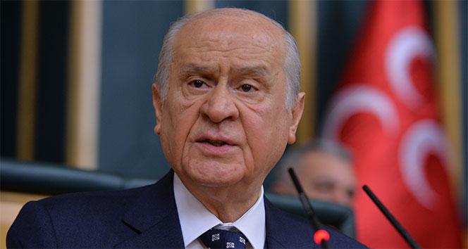 MHP lideri Bahçeli'den ABD Başkanı Biden'a sert tepki