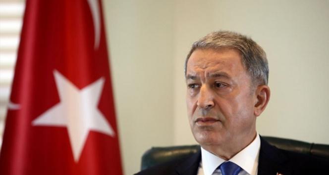 Milli Savunma Bakanı Akar, Irak Savunma Bakanı Anad ile telefonda görüştü