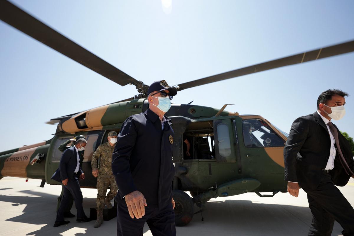 Milli Savunma Bakanı Hulusi Akar Gaziantep'te