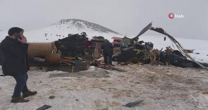 MSB: 'Enkaz bölgesinde herhangi bir patlama ve yanma emaresine rastlanmamıştır'