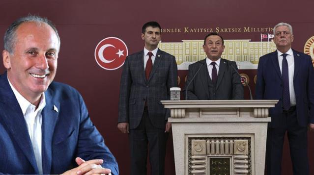 Muharrem İnce CHP'den istifa eden 3 vekilin Memleket Hareketi'ne geçtiğini duyurdu