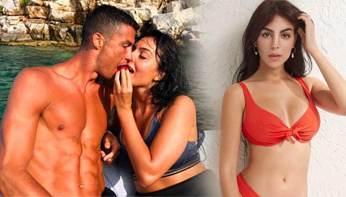 Ronaldo'nun sevgilisi Georgina Rodriguez, yarışma programına aslan kostümüyle katıldı