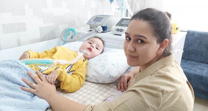 SMA hastası Egehan son şansını kaybetmek istemiyor