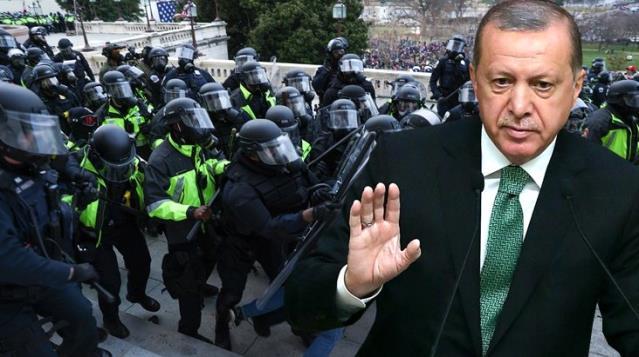 Son Dakika! Cumhurbaşkanı Erdoğan'dan ABD'deki kanlı Kongre baskınıyla ilgili ilk açıklama: Demokrasi için bir yüz karası