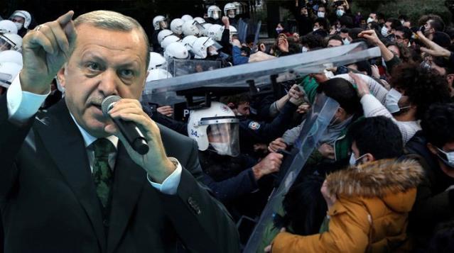 Son Dakika! Cumhurbaşkanı Erdoğan'dan Boğaziçi eylemcilerine çok sert sözler: Onlar rektörün odasını basmaya çalışan teröristler