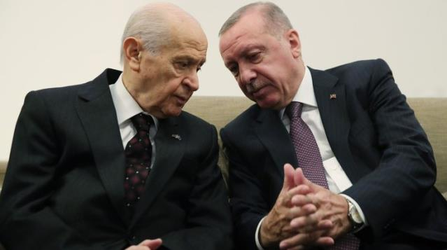 Son Dakika: Cumhurbaşkanı Erdoğan ile MHP lideri Bahçeli'nin 'yeni anayasa' zirvesi sona erdi