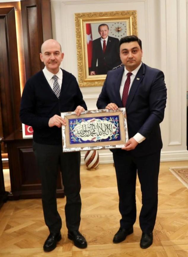 Son dakika haberi: İçişleri Bakanı Soylu'ya anlamlı ziyaret
