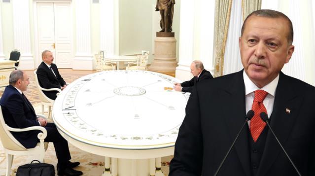 Son Dakika! Putin Moskova'daki Karabağ zirvesinin ardından Erdoğan'ı bilgilendirdi