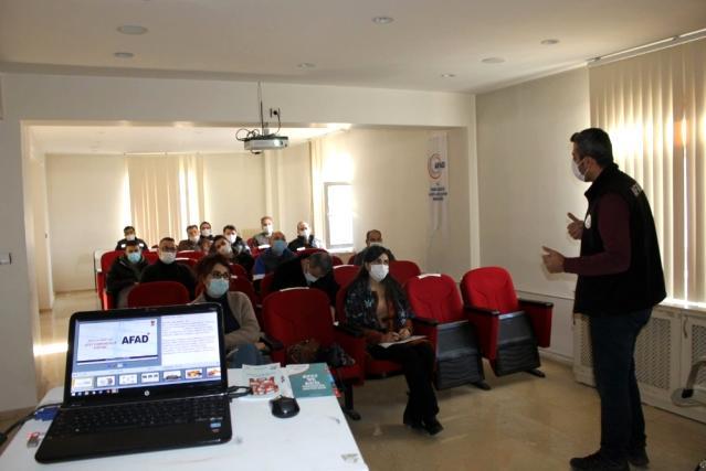 Tunceli'de 'Afet Eğitim Yılı Etkinlikleri