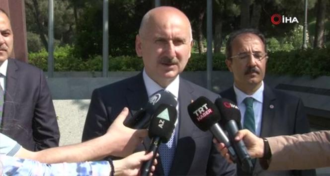 Ulaştırma ve Altyapı Bakanı Karaismailoğlu'ndan Karabağ mesajı