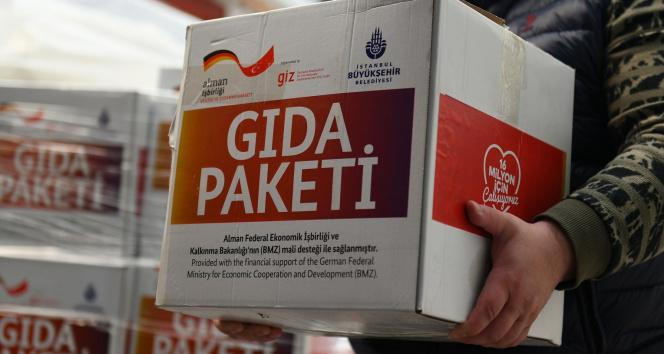 Uluslararası yardımlar ihtiyaç sahiplerine ulaştırılıyor