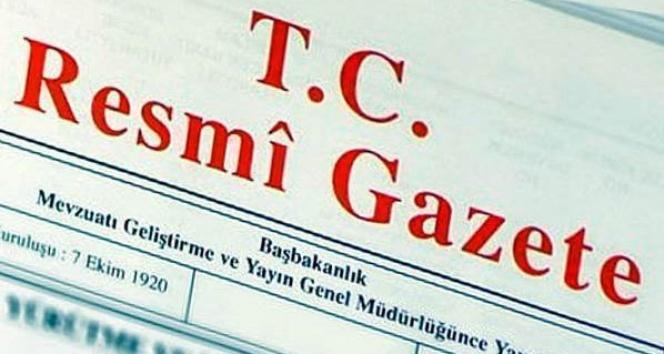 Yargıtay üyeliklerine seçilme kararı Resmi Gazete'de