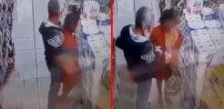 Zihinsel engelli kız çocuğuna markette cinsel istismar! Sapığın görüntüleri sosyal medyada infial yarattı